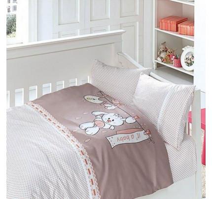 Детское постельное белье First Choice Baby pudra