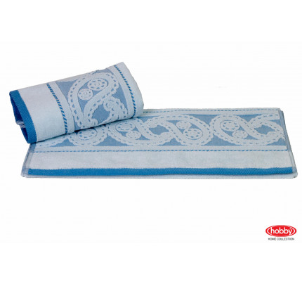 Полотенце Hobby Home Collection Hurrem (голубое)