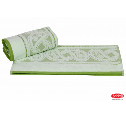 Полотенце Hobby Home Collection Hurrem (зеленое)
