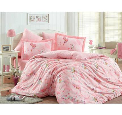 Постельное белье Hobby Home сатин Mystery (розовый)