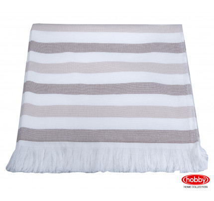 Полотенце Hobby Home Collection Stripe (коричневый)