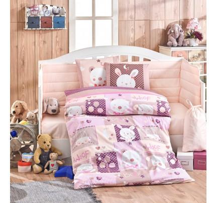 Детское белье в кроватку Hobby Home Snoopy (розовый)
