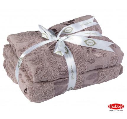 Набор полотенец Hobby Home Versal визон (50x90+70x140 - 2 предмета)