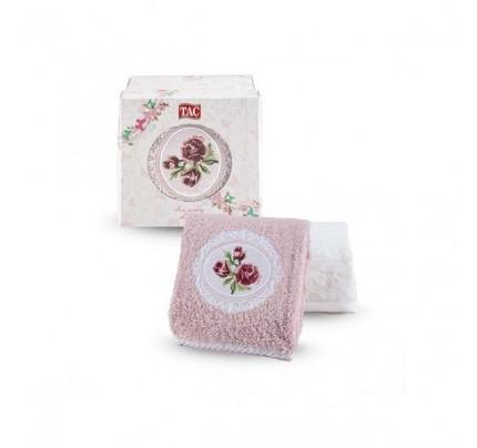Набор полотенец TAC Endo (50x90 - 2 шт., пудра-кремовый)