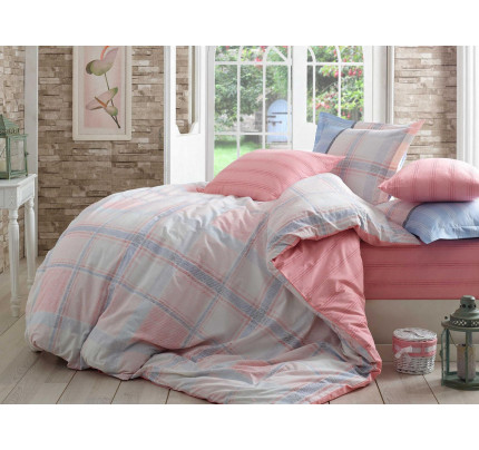 Постельное белье Hobby Home поплин Carmela (розовый)