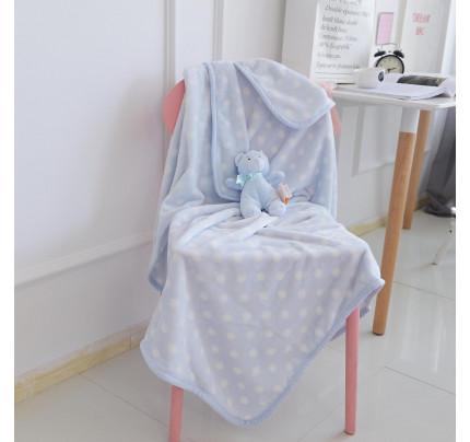 Детский плед Sofi de Marko Тедди (голубой) 100x150