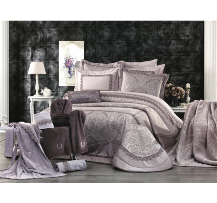 Набор с покрывалом Zebra Casa Estimate 17 предметов
