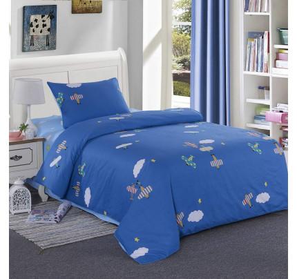 Sofi de Marko Самолетики (синее) детское постельное белье