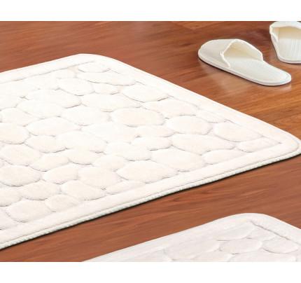 Набор ковриков Karven Stone кремовый (50x60+60x100)