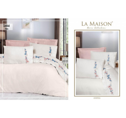 Постельное белье La Maison Zambak pudra евро