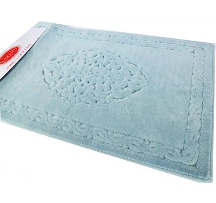 Набор ковриков Karven Osmanli бирюзовый (50x60+60x100)