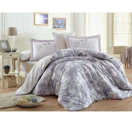 Постельное белье Hobby Home сатин Romina (лиловый)