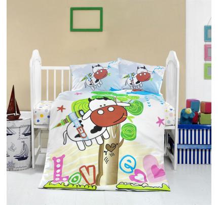 Детское белье в кроватку Arya Home Merakli
