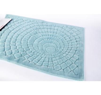 Набор ковриков Karven Girdap бирюзовый (50x60+60x100)
