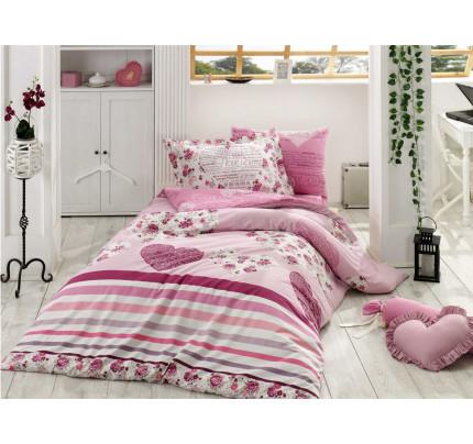 Постельное белье Hobby Home поплин Bella (фиолетовый)