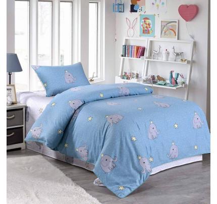 Sofi de Marko Слон (голубой) детское постельное белье