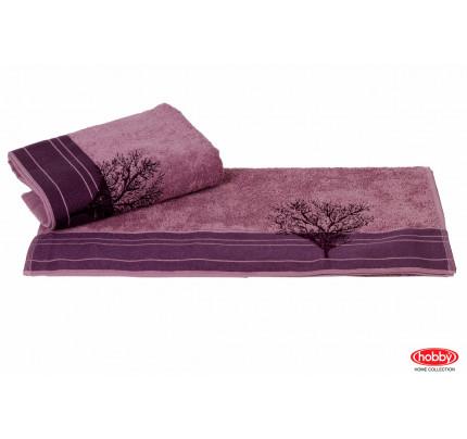 Полотенце Hobby Home Collection Infinity (фиолетовое)