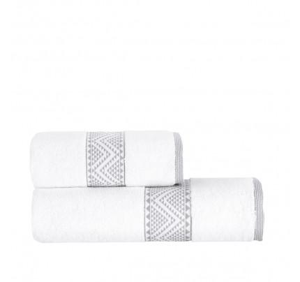 Полотенце Arya Rey (белый) 50x90