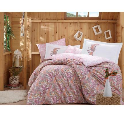 Постельное белье Hobby Home поплин Giulia (розовый)