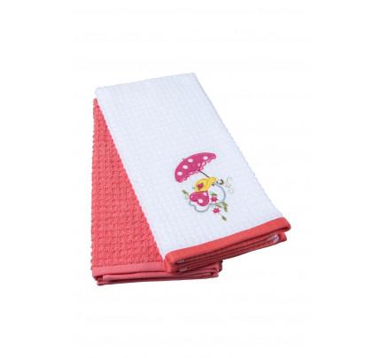 Салфетки для кухни TAC Red Chick (2 предмета, 40x60)