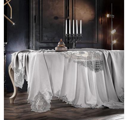 Скатерть Zebra Casa Baroque (серый) 160x260