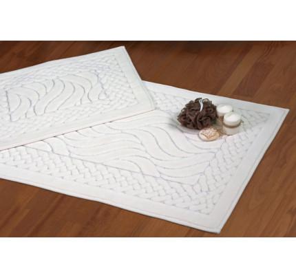 Набор ковриков Karven Ruya кремовый (50x60+60x100)