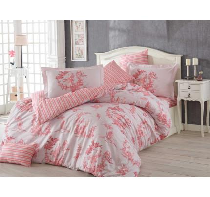 Постельное белье Hobby Home поплин Vanessa (розовый)