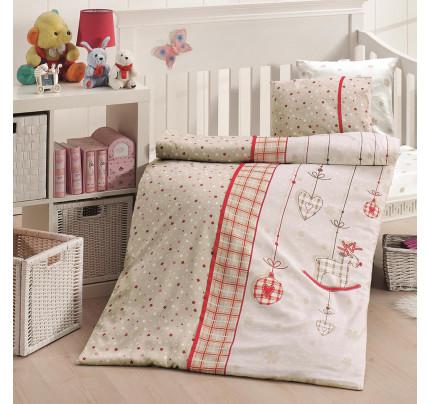 Детское постельное белье First Choice Palmy kirmizi
