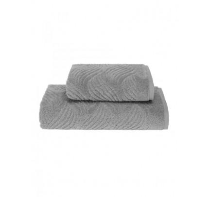 Полотенце Soft Cotton Wave (серое)
