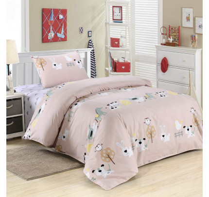 Sofi de Marko Бакс Банни (розовый) детское постельное белье