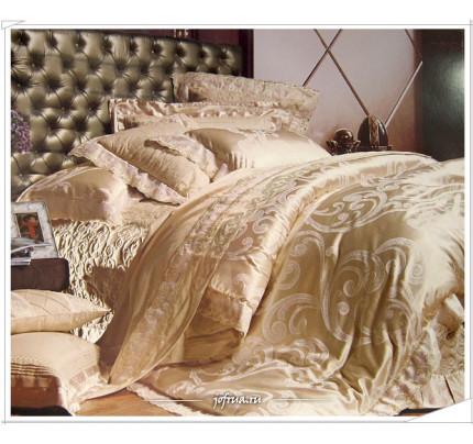 Постельное белье Famille TJ-03 с гипюром