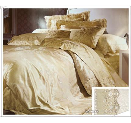 Постельное белье Famille TJ-12 с гипюром