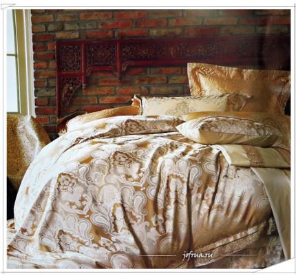 Постельное белье Famille TJ-13 с гипюром