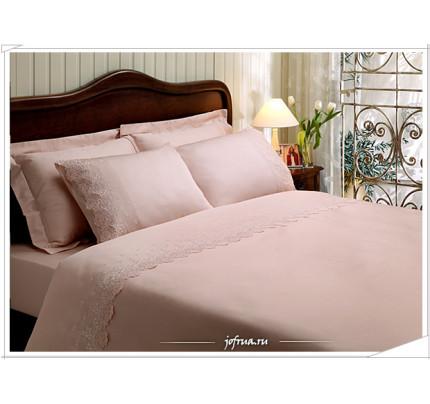 Постельное белье Clarisa (розовое) евро