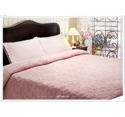 Набор с покрывалом Tivolyo Home Baroc (розовый)