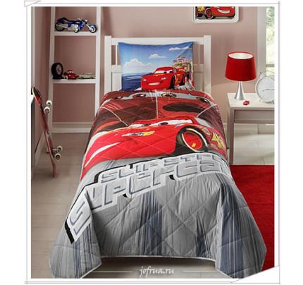 """Детское покрывало TAC """"Cars Face Movie"""" 1.5-спальное"""