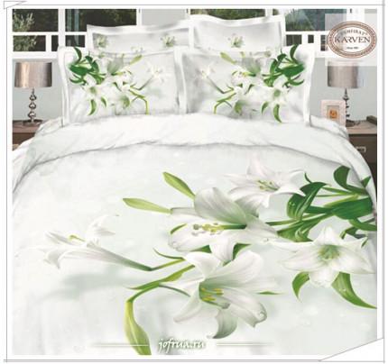 Постельное белье Karven 366 Белые Лилии