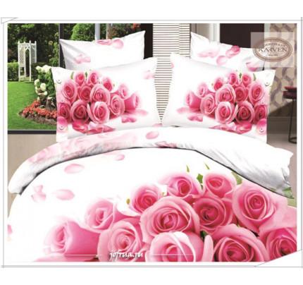 Постельное белье Karven 389 Нежность розовых роз
