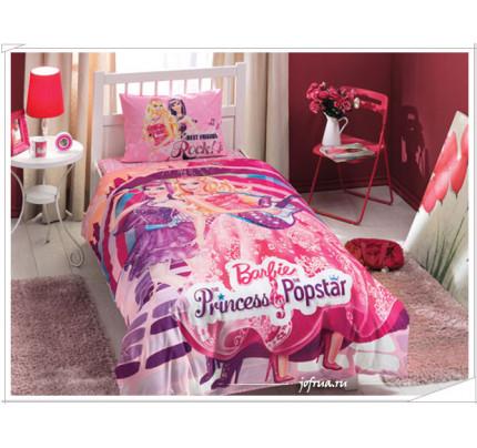 Постельное белье Barbie Princess Popstar