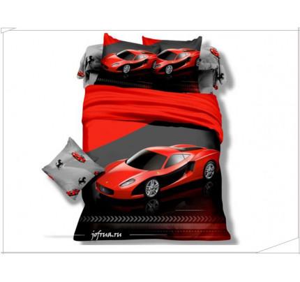 Детское постельное белье Красный Феррари