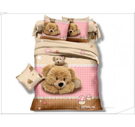 Детское постельное белье Любимые Медвежата