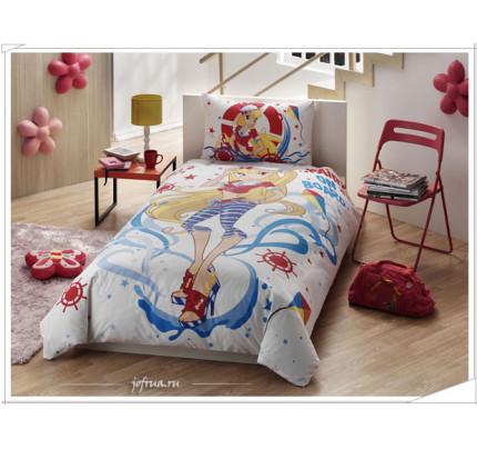 Детское постельное белье Винкс: Стелла на море - TAC Winx Stella Ocean