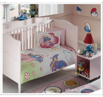 Детское белье в кроватку TAC Sirinler Baby Girl