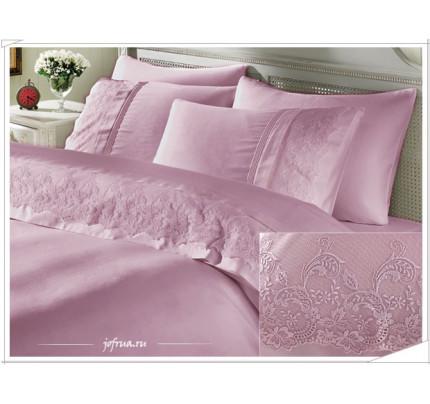 Свадебное постельное белье Ezgi (лиловое) евро
