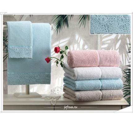 Набор полотенец Tivolyo Forza (розовый) (3 предмета)