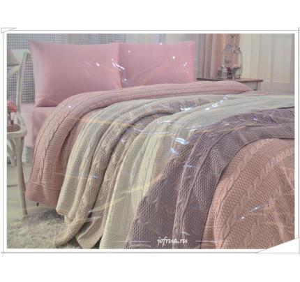 Свадебный набор Gelin Home Dilara с пледом евро