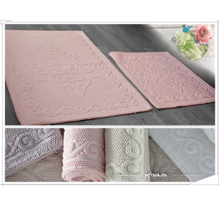 Набор ковриков Gelin Home Sonil (2 предмета) серый
