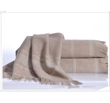 Полотенце Irya Duru (коричневое)