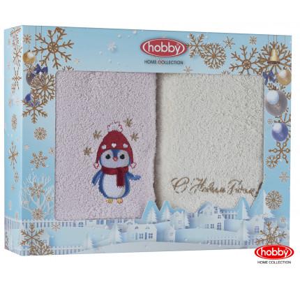Набор новогодних полотенец Hobby Home A1 (50x90, 2 предмета)