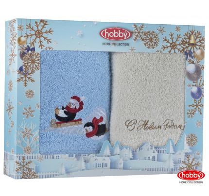 Набор новогодних полотенец Hobby Home A14 (50x90, 2 предмета)